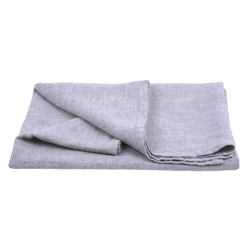 Stonewashed Linen Pure 100 Linen Flax Luxury Bath Towel Light